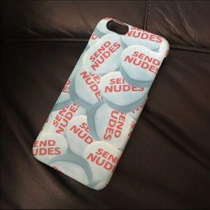 KIMOJI Send Nudes iPhone 6/6s phone case